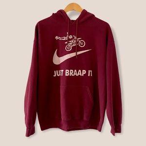 🏍 Men's Just Braaap It Hoodie
